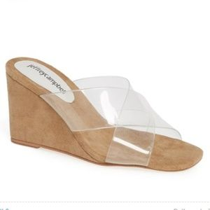 Jeffrey Campbell Mystical Wedge Sandal, like new
